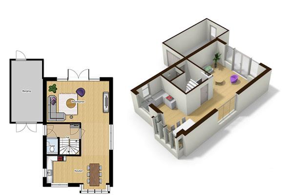 Floorplanner mvl interieur styling manja van luijk for 2d plattegrond maken